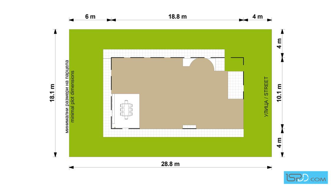 Проект на къща в гр. Ямбол