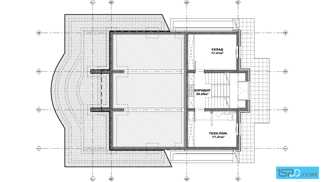 План на подземен етаж