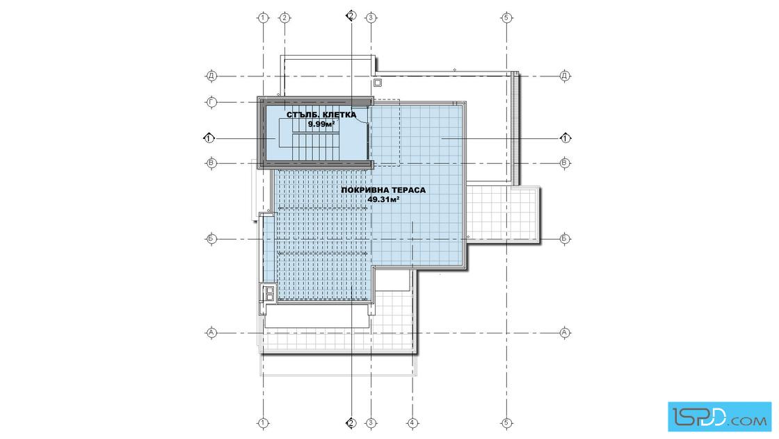 План на покрива