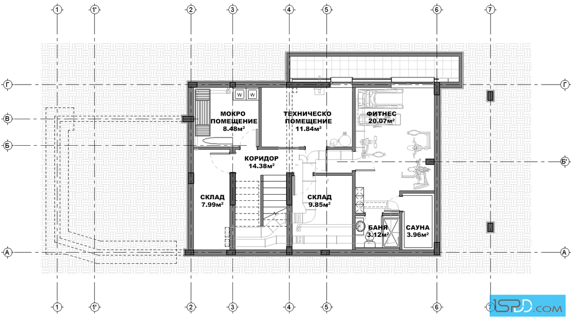 Underground Floor Plan