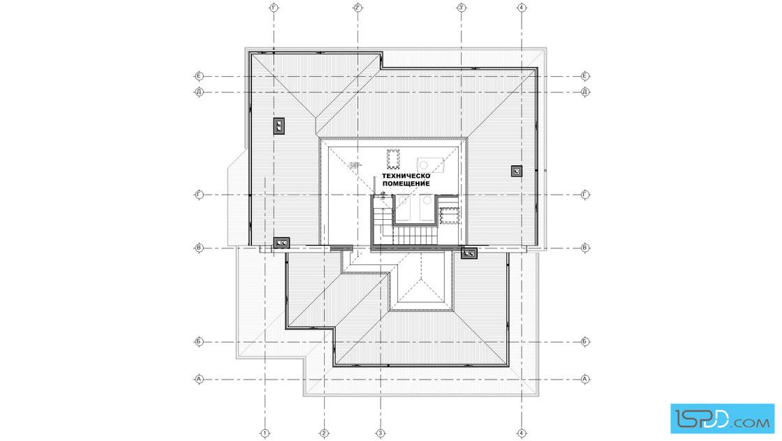 План на тавански етаж