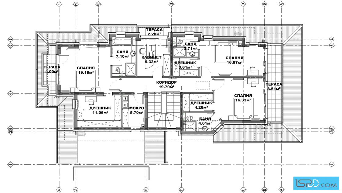 Upper Floor Plan