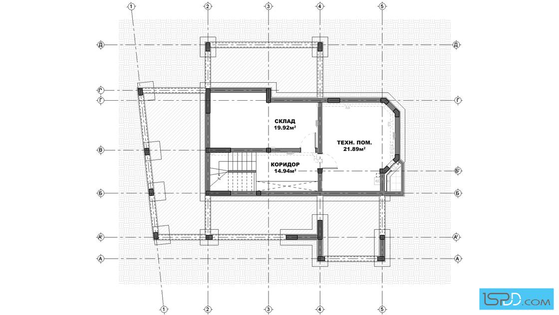 Underground Floor Plan