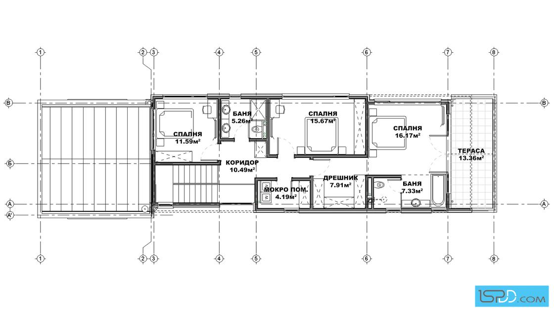 План на втори етаж