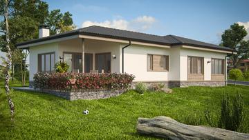 Проект на къща в гр. Перник