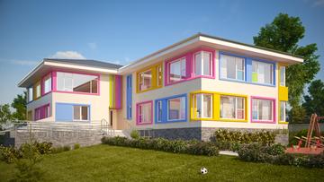 Детска градина в обл. Бургас