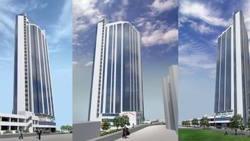 Высотное многофункциональное здание